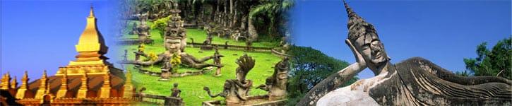 Parc Bouddha au Laos