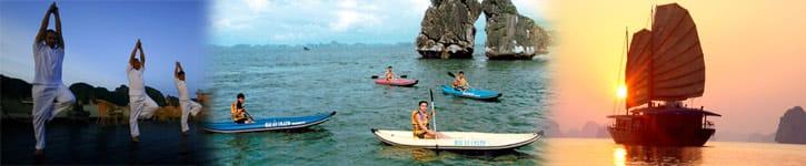 kayak à Halong