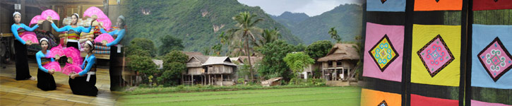 Dormir chez l'habitant à Mai Chau