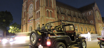 Circuit Saigon Jeep Tours