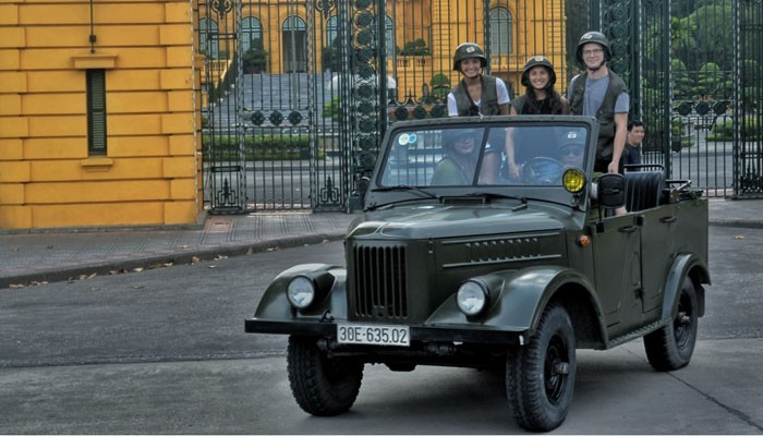 Jeep Tour in Hanoi