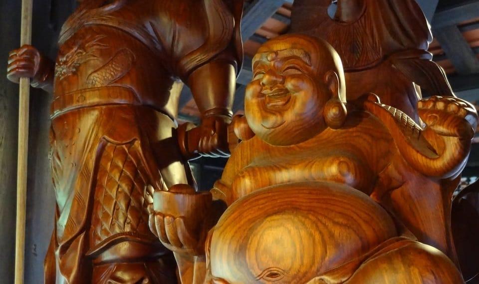 La scupture sur bois au Vietnam