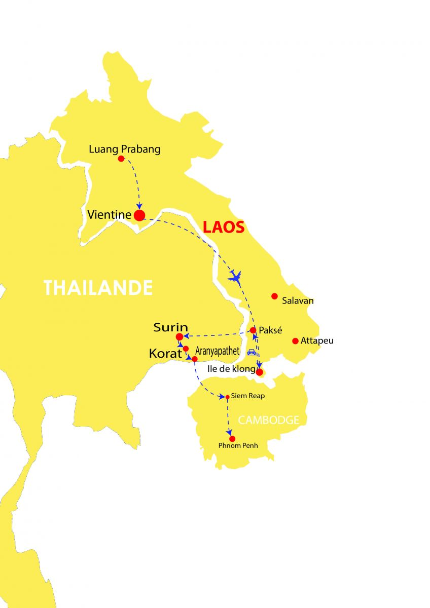 Circuit Laos Cambodge 18 jours