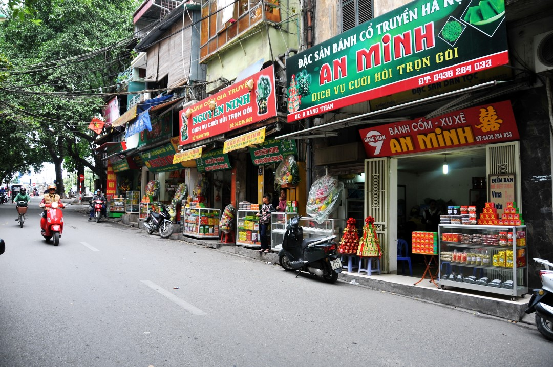 Vieux quartier Ha noi Hang Than